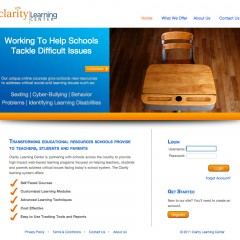 CLARITY LEARNING CENTER        website